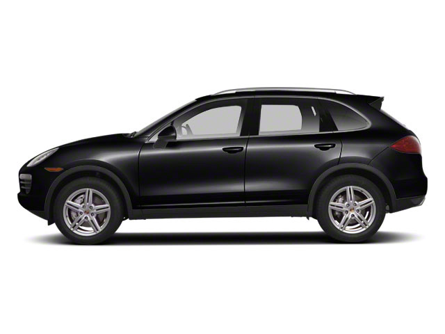 Black 2011 Porsche Cayenne Pictures Cayenne Utility 4D AWD (V6) photos side view
