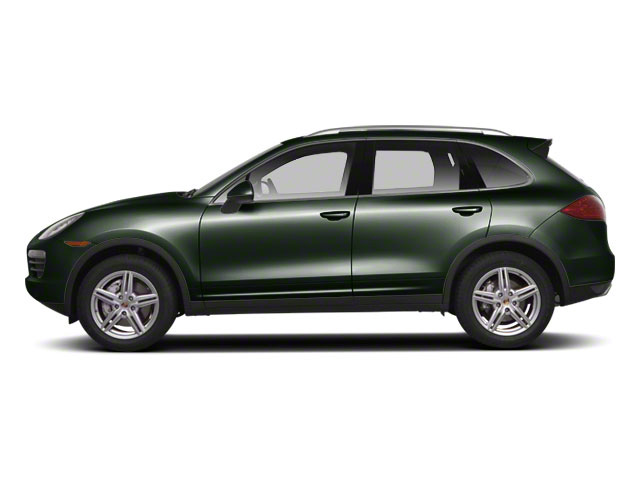 Jet Green Metallic 2011 Porsche Cayenne Pictures Cayenne Utility 4D AWD (V6) photos side view
