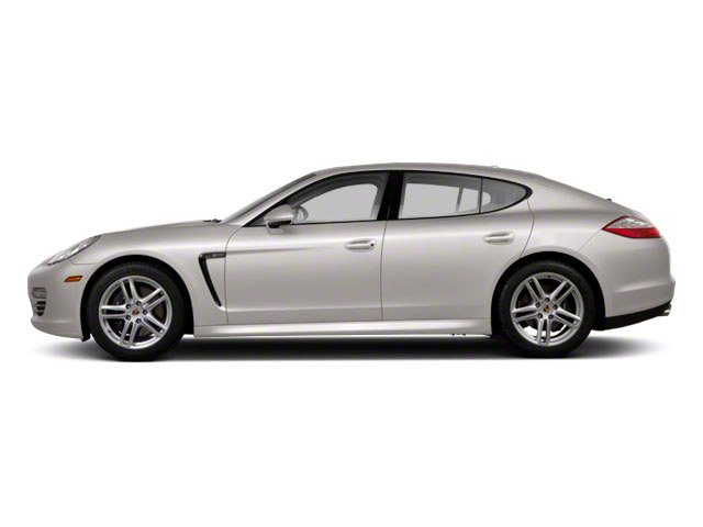 Platinum Silver Metallic 2011 Porsche Panamera Pictures Panamera Hatchback 4D photos side view
