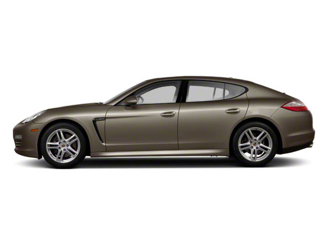 Topaz Brown Metallic 2011 Porsche Panamera Pictures Panamera Hatchback 4D photos side view