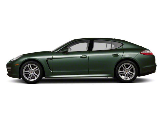Jet Green Metallic 2011 Porsche Panamera Pictures Panamera Hatchback 4D photos side view