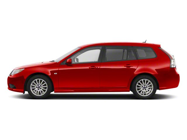 Laser Red 2011 Saab 9-3 Pictures 9-3 Wagon 5D SportCombi Aero Turbo photos side view