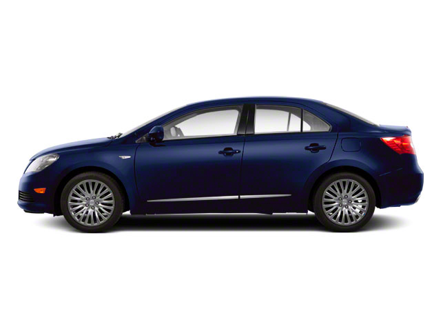 Deep Sea Blue Metallic 2011 Suzuki Kizashi Pictures Kizashi Sedan 4D SE AWD photos side view