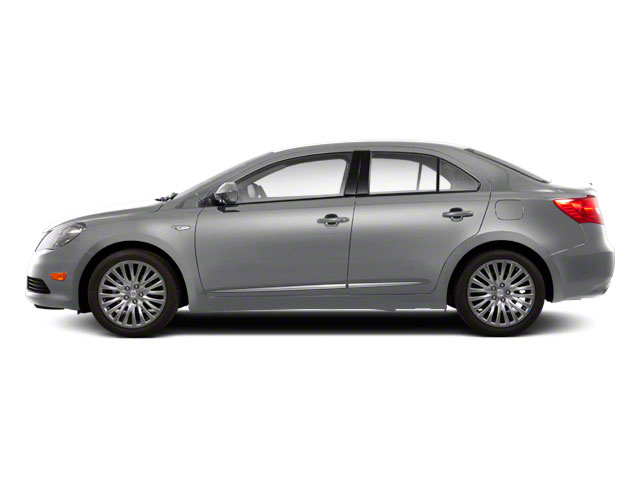 Platinum Silver Metallic 2011 Suzuki Kizashi Pictures Kizashi Sedan 4D SE AWD photos side view