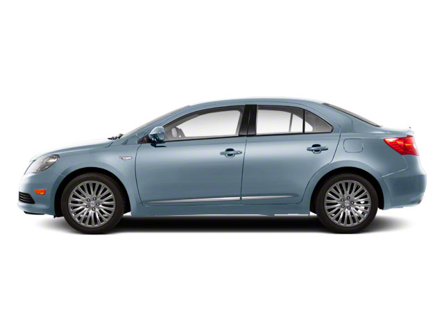 Ice Blue Metallic 2011 Suzuki Kizashi Pictures Kizashi Sedan 4D SE AWD photos side view