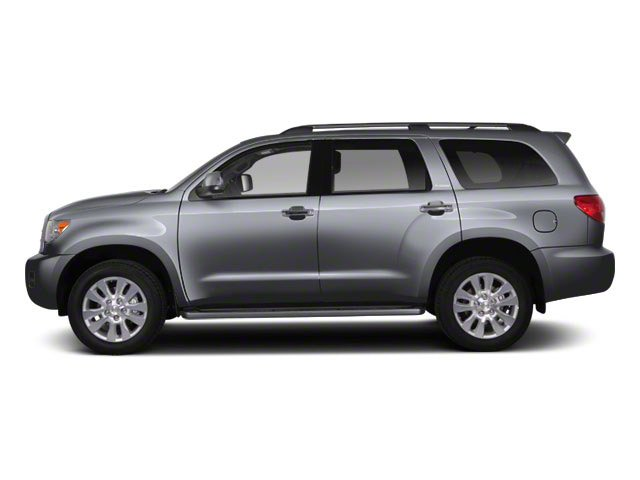 Silver Sky Metallic 2011 Toyota Sequoia Pictures Sequoia Utility 4D Limited 4WD photos side view