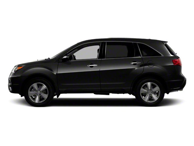 Crystal Black Pearl 2012 Acura MDX Pictures MDX Utility 4D Advance DVD AWD photos side view