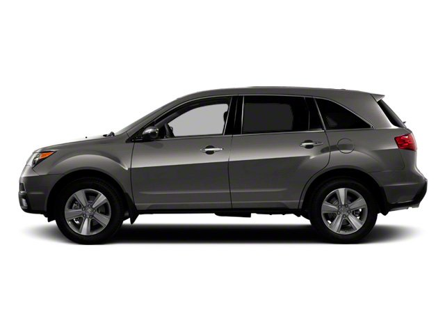 Grigio Metallic 2012 Acura MDX Pictures MDX Utility 4D Technology DVD AWD photos side view