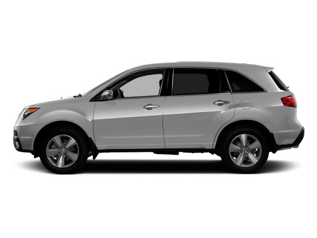 Palladium Metallic 2012 Acura MDX Pictures MDX Utility 4D Technology DVD AWD photos side view