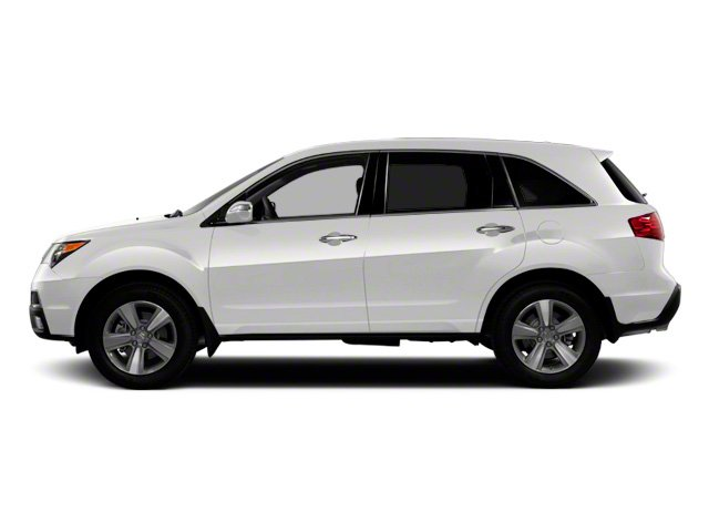 Bellanova White Pearl 2012 Acura MDX Pictures MDX Utility 4D Advance DVD AWD photos side view