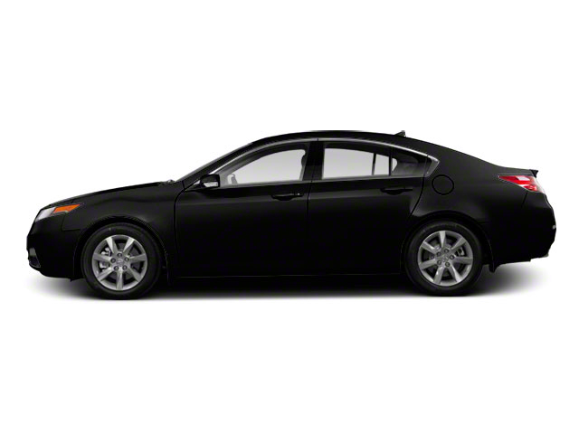 Crystal Black Pearl 2012 Acura TL Pictures TL Sedan 4D Advance photos side view