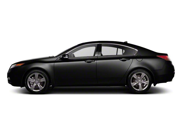 Crystal Black Pearl 2012 Acura TL Pictures TL Sedan 4D Advance AWD photos side view