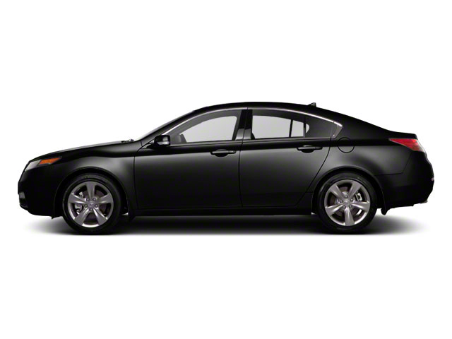 Crystal Black Pearl 2012 Acura TL Pictures TL Sedan 4D Technology AWD photos side view