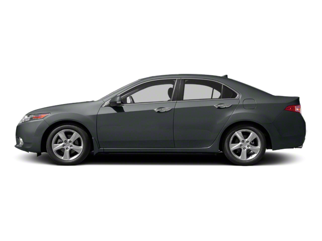 Graphite Luster Metallic 2012 Acura TSX Pictures TSX Sedan 4D photos side view