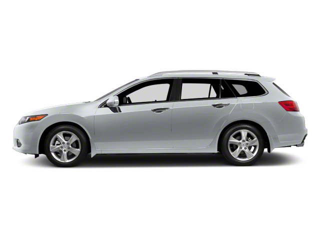 Forged Silver Metallic 2012 Acura TSX Sport Wagon Pictures TSX Sport Wagon Wagon 4D Technology photos side view