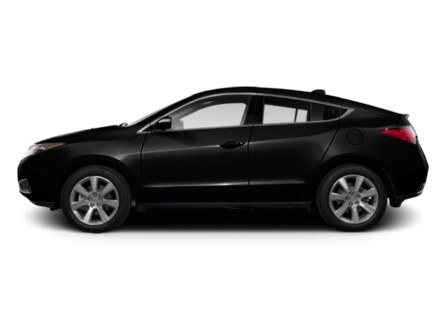 Crystal Black Pearl 2012 Acura ZDX Pictures ZDX Utility 4D Advance AWD photos side view