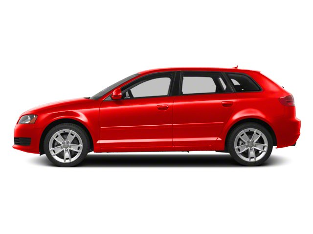 Brilliant Red 2012 Audi A3 Pictures A3 Hatchback 4D 2.0T Quattro photos side view