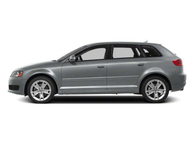 Monza Silver Metallic 2012 Audi A3 Pictures A3 Hatchback 4D 2.0T Quattro photos side view