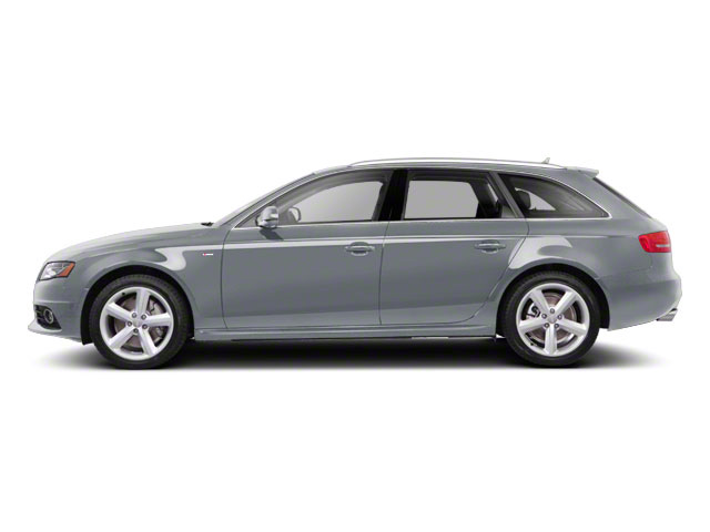 Ice Silver Metallic 2012 Audi A4 Pictures A4 Wagon 4D 2.0T Quattro photos side view