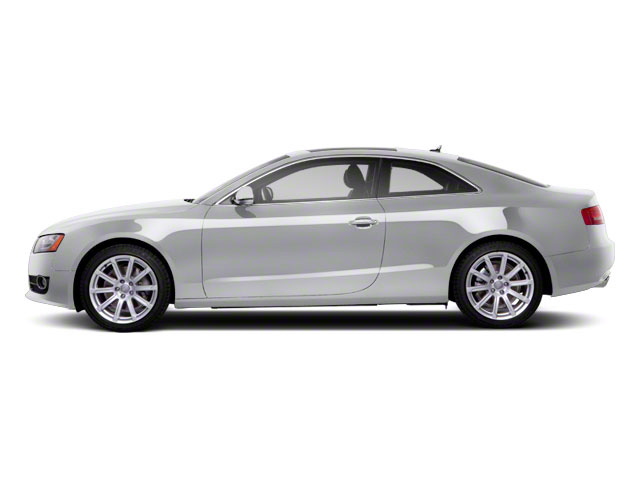 Ice Silver Metallic 2012 Audi A5 Pictures A5 Coupe 2D Quattro Prestige photos side view