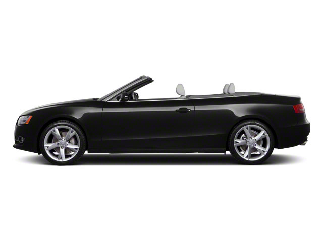 Brilliant Black 2012 Audi A5 Pictures A5 Convertible 2D Premium Plus photos side view