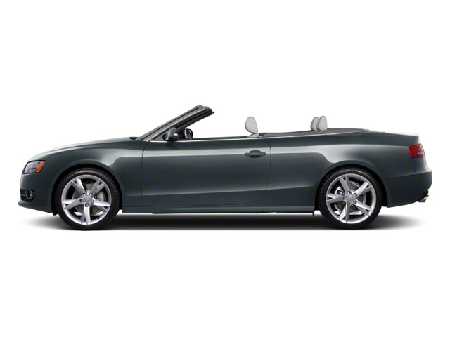 Moonlight Blue Metallic 2012 Audi A5 Pictures A5 Convertible 2D Premium Plus photos side view
