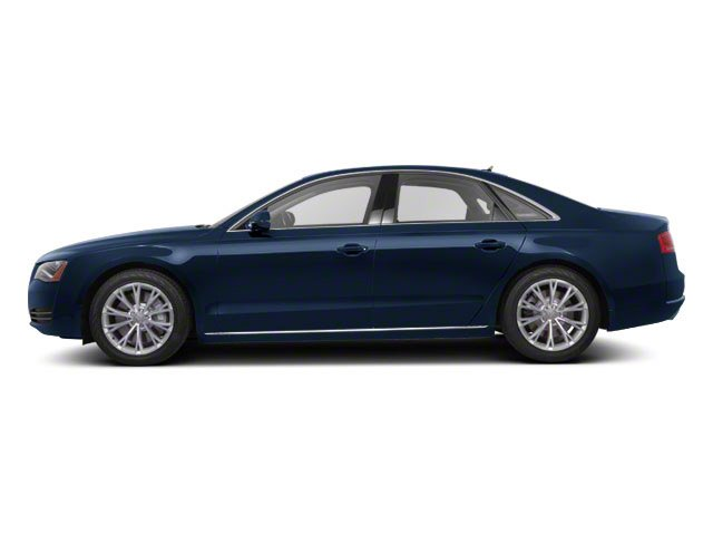 Night Blue Pearl 2012 Audi A8 Pictures A8 Sedan 4D 4.2 Quattro photos side view