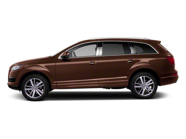Teak Brown Metallic 2012 Audi Q7 Pictures Q7 Utility 4D 3.0 TDI Prestige S-Line A photos side view