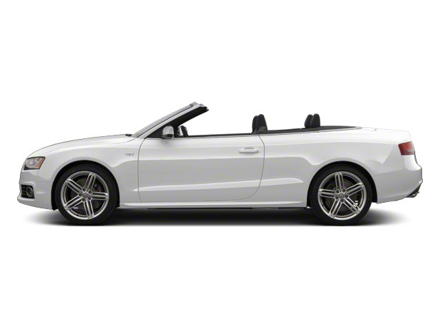 Ibis White 2012 Audi S5 Pictures S5 Convertible 2D Quattro photos side view