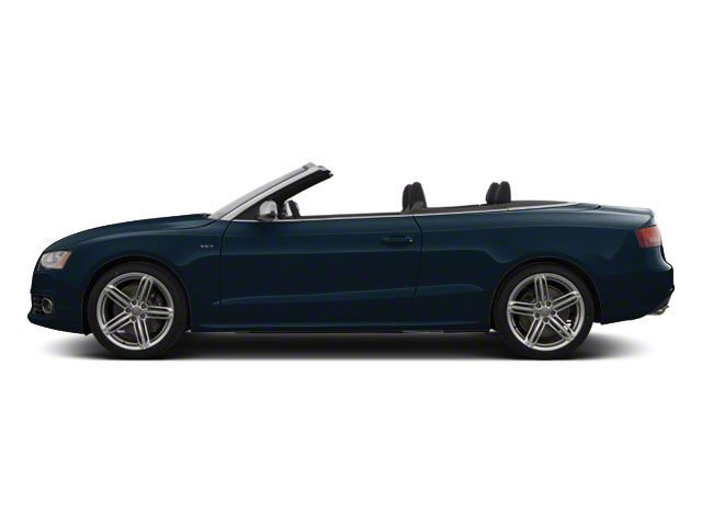 Moonlight Blue Metallic 2012 Audi S5 Pictures S5 Convertible 2D Quattro photos side view