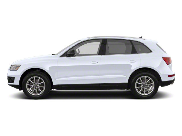 Glacier White Metallic 2012 Audi Q5 Pictures Q5 Utility 4D 2.0T Premium Plus AWD photos side view