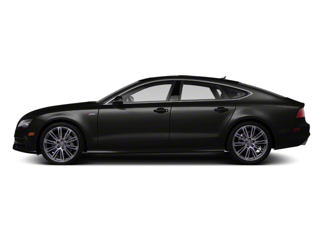 Oolong Gray Metallic 2012 Audi A7 Pictures A7 Sedan 4D 3.0T Quattro photos side view