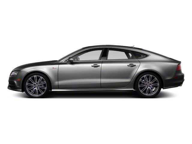 Ice Silver Metallic 2012 Audi A7 Pictures A7 Sedan 4D 3.0T Quattro photos side view