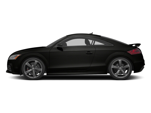 Panther Black Crystal 2012 Audi TT RS Pictures TT RS Coupe 2D Quattro photos side view