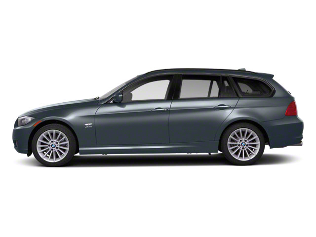 Space Gray Metallic 2012 BMW 3 Series Wagon 4D 328i Side View