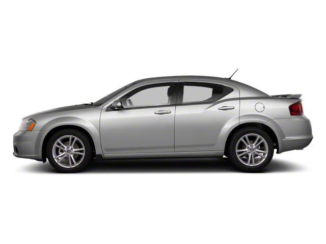 Bright Silver Metallic 2012 Dodge Avenger Pictures Avenger Sedan 4D SXT photos side view