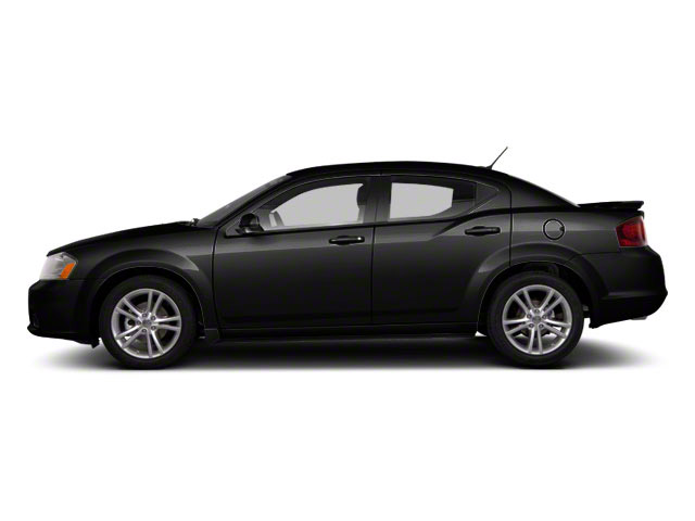 Black 2012 Dodge Avenger Pictures Avenger Sedan 4D SXT photos side view