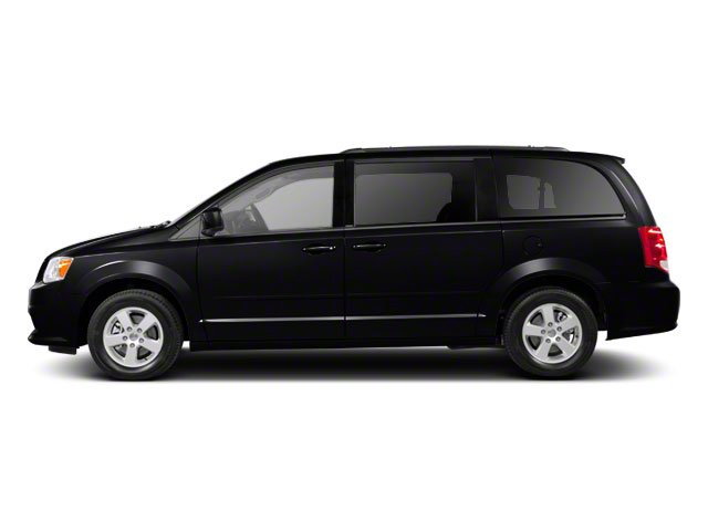 Brilliant Black Crystal Pearl 2012 Dodge Grand Caravan Pictures Grand Caravan Grand Caravan R/T photos side view
