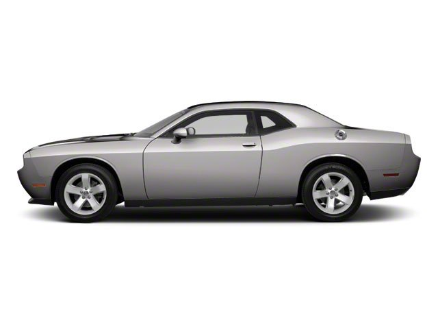 Bright Silver Metallic 2012 Dodge Challenger Pictures Challenger Coupe 2D SRT-8 photos side view