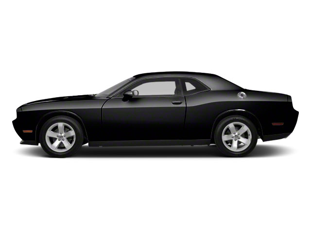 Black 2012 Dodge Challenger Pictures Challenger Coupe 2D SRT-8 photos side view