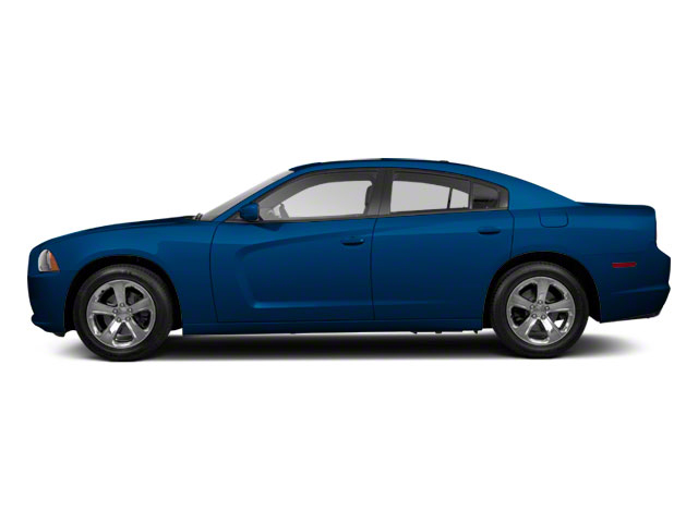 Electric Blue Pearl 2012 Dodge Charger Pictures Charger Sedan 4D Police photos side view