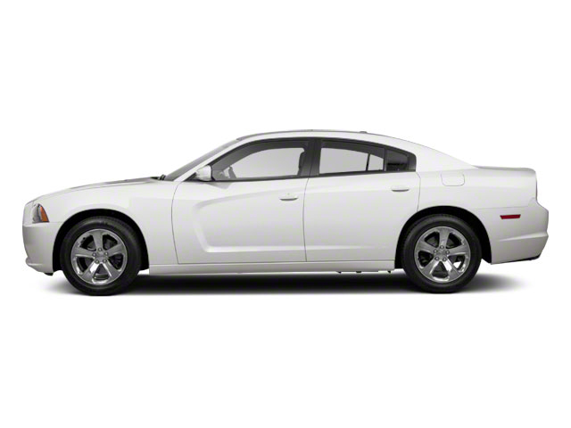 Bright White 2012 Dodge Charger Pictures Charger Sedan 4D SRT-8 photos side view