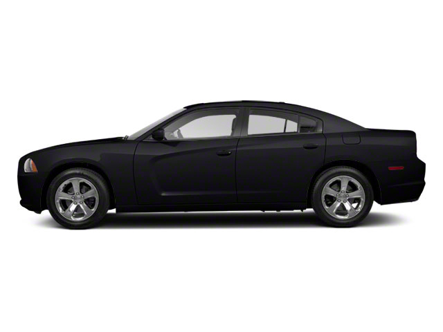 Pitch Black 2012 Dodge Charger Pictures Charger Sedan 4D SRT-8 photos side view