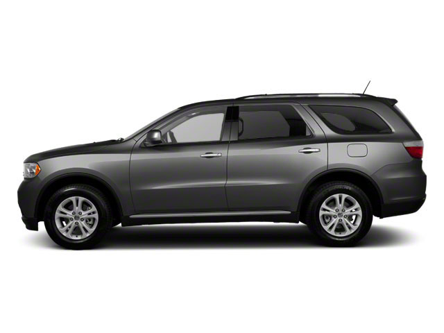 Maximum Steel Metallic 2012 Dodge Durango Pictures Durango Utility 4D Crew AWD photos side view