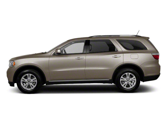 Mineral Gray Metallic 2012 Dodge Durango Pictures Durango Utility 4D Crew AWD photos side view