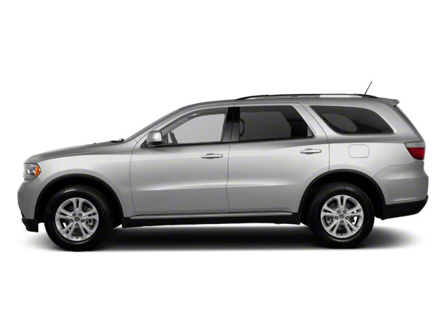 Bright Silver Metallic 2012 Dodge Durango Pictures Durango Utility 4D Crew AWD photos side view