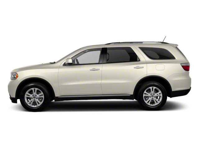 White Gold 2012 Dodge Durango Pictures Durango Utility 4D Crew AWD photos side view