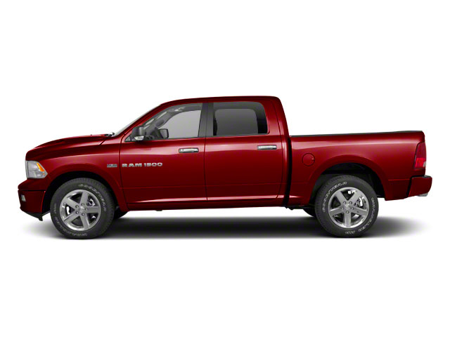 Deep Cherry Red Crystal Pearl 2012 Ram Truck 1500 Pictures 1500 Crew Cab Outdoorsman 4WD photos side view