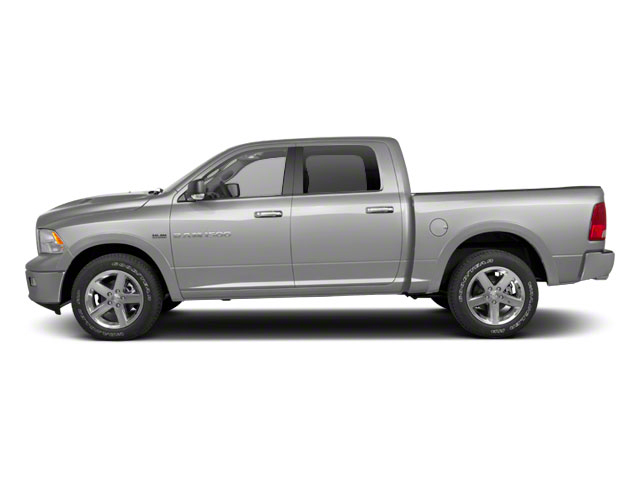 Bright Silver Metallic 2012 Ram Truck 1500 Pictures 1500 Crew Cab Outdoorsman 4WD photos side view