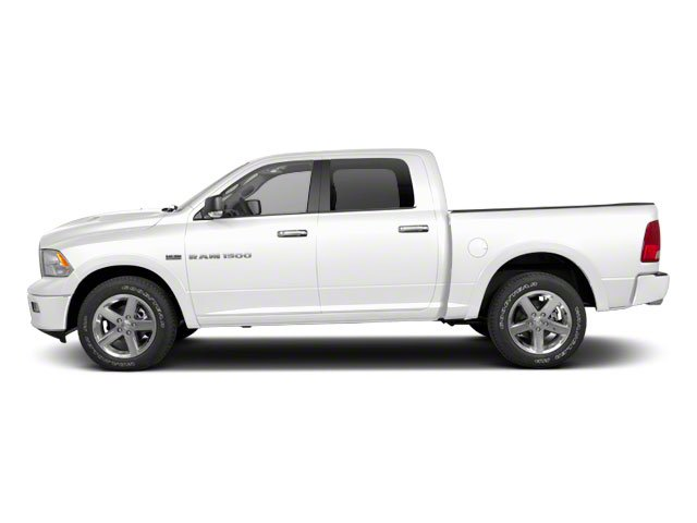 Bright White 2012 Ram Truck 1500 Pictures 1500 Crew Cab Outdoorsman 4WD photos side view